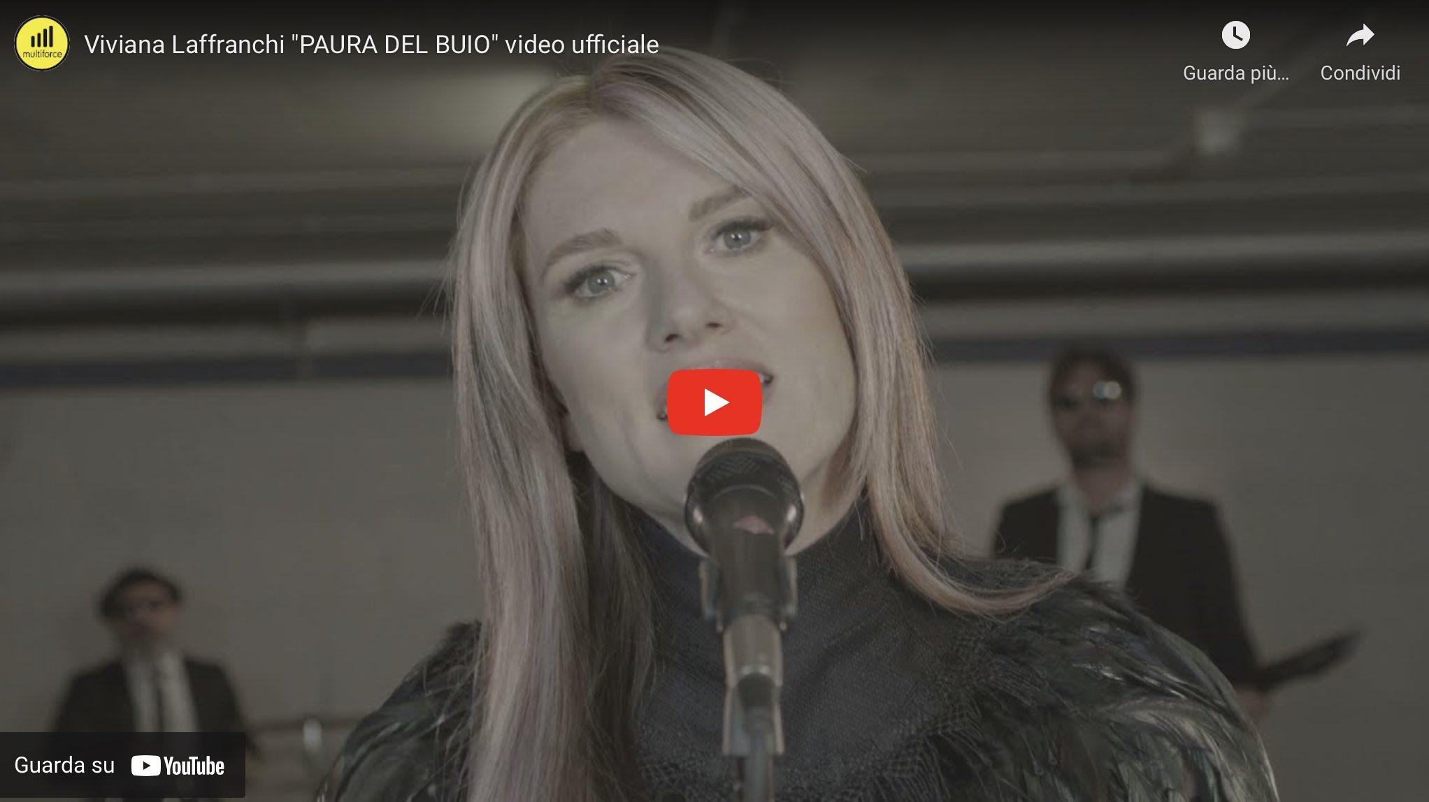 Viviana Laffranchi paura del buio video