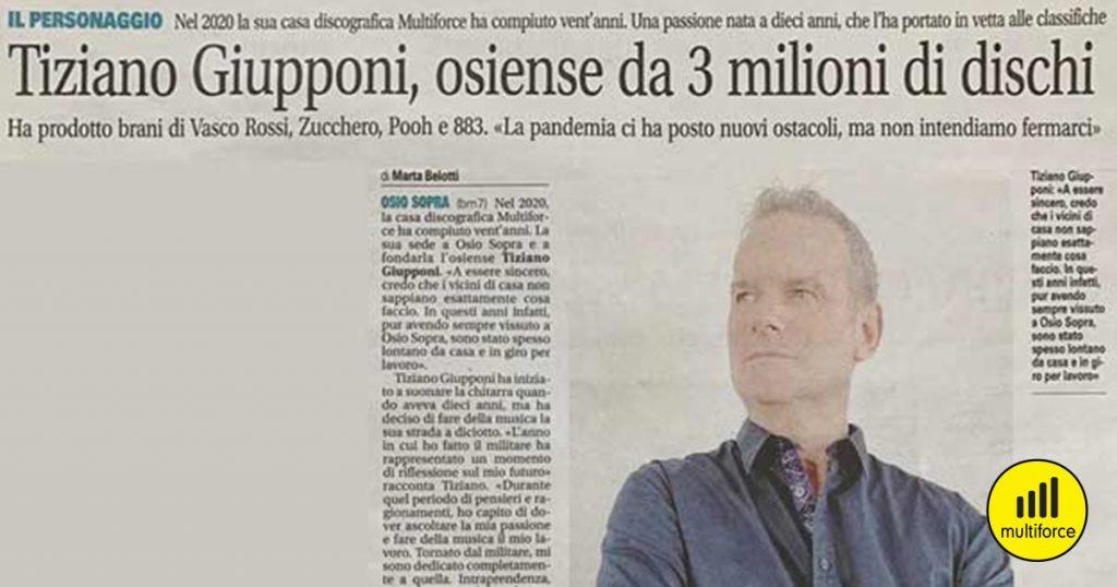 intervista a Tiziano Giupponi